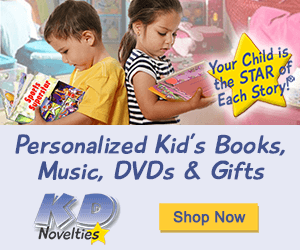 personalized books and gifts for children by KD Novelties