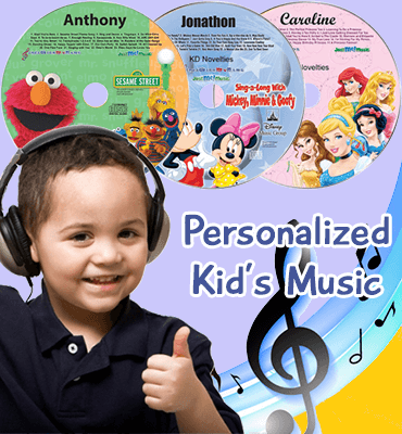 Personalized Kid's Music