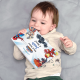 Toddler with Personalized Marvel Book