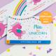 Personalized Unicorn Board Book