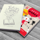 Personalized Arty Mouse Words Book Gift Box
