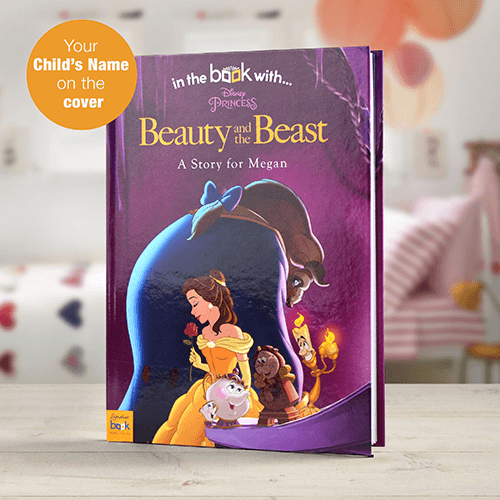 personalized disneys beauty   beast book