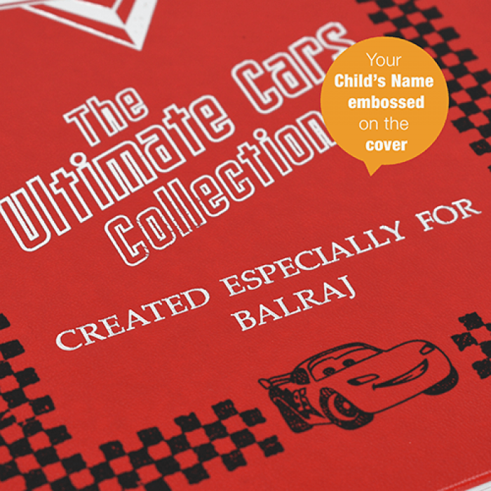 Personalized Disney's Cars Ultimate Collection Book