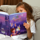 Child with Disney personalized book