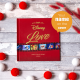 Personalized Disney Love book