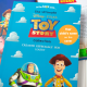 Disney Toy Story Collection Book with Name on Cover