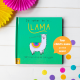 Personalized Book about Llamas