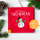Personalized Snowman Book