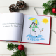 Snowman Personalized Book