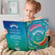 Girl holding Mermaid Personalized Book