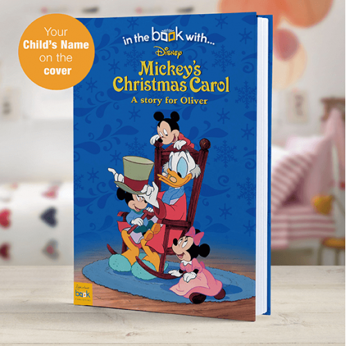 mickeys christmas carol personalized book - Mickeys Christmas Carol
