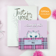 Personalized Nina Kitten book gift box