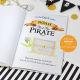Personalized Pirate Book