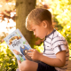 Child Holding Personalized Storybook