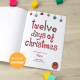 Twelve Days of Christmas Personalized Story Book