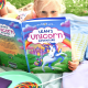 Girl holding Personalized Unicorn Book