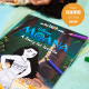 Moana personalized coloring book