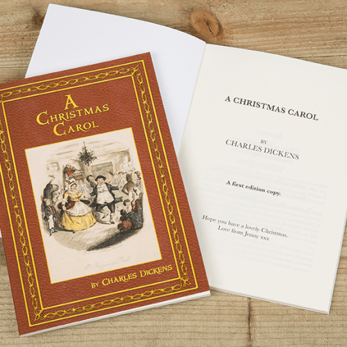 a christmas carol personalized kids classic novel chapter book - A Christmas Carol First Edition