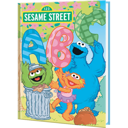 ABC and Me Personalized Sesame Street Book