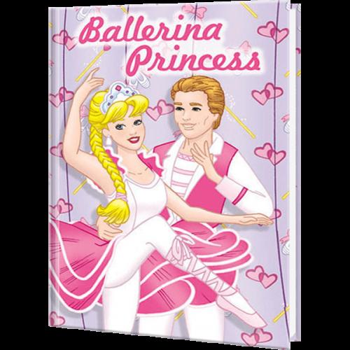 Ballerina Princess Personalized Children's Book