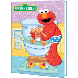 Sesame Street's Elmo Bye Bye Diapers Personalized Baby Book