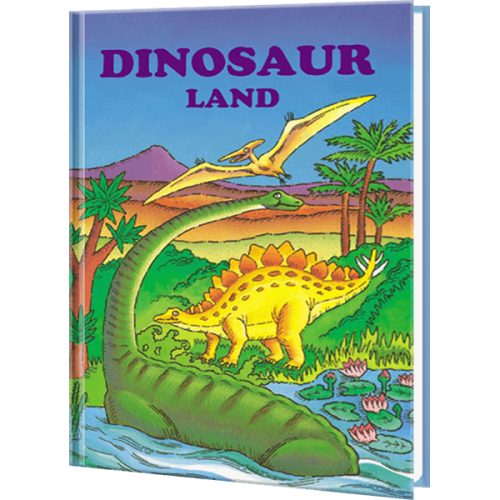 Dinosaur Land Personalized Children's Book