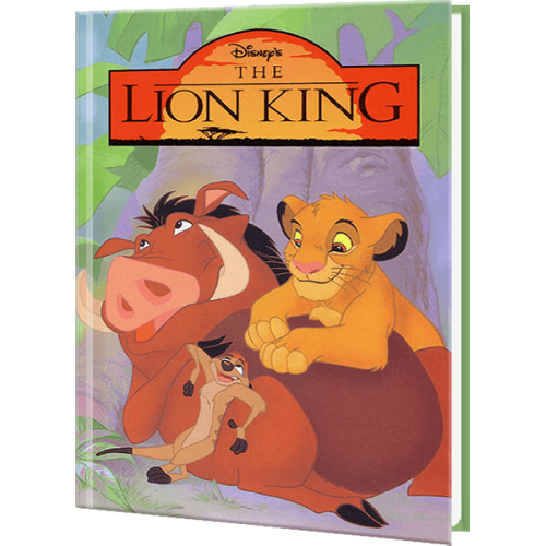 Disneys The Lion King Personalized Children's Book