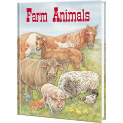 Farm Animals Personalized Children's Book