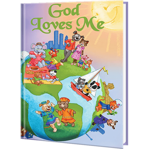God Loves Me Personalized Children's Book