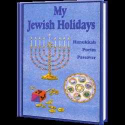 My Jewish Holidays Personalized Children's Book