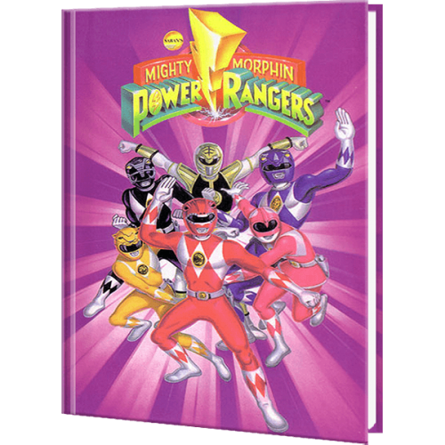 Mighty Morphin Power Rangers Personalized Superhero Book