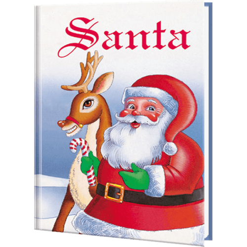 Santa Personalized Children's Book