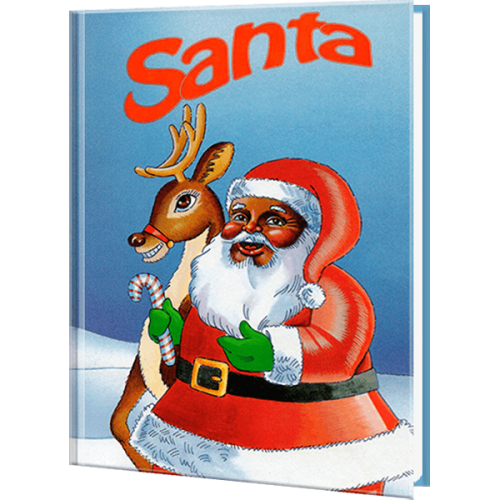 Santa - Ethnic Version Personalized Children's Book