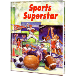 Sports Superstar Personalized Children's Book