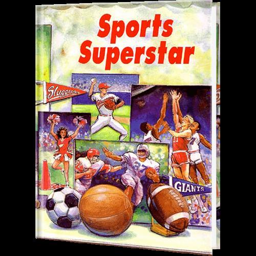 Sports Superstar Personalized Children's Book