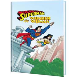 Superman and Wonder Woman Personalized Super Hero Book
