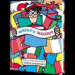 Personalized Where's Waldo Children's Book