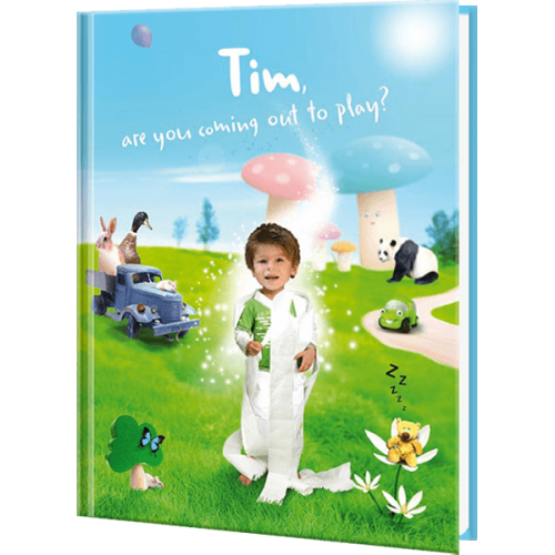 Potty Hero Personalized Children's Photo Book