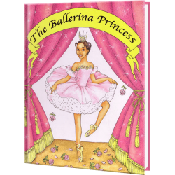 Ballerina Princess - Ethnic Version Personalized Children's Book