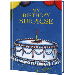 Personalized My Birthday Surprise Book