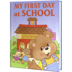 My First Day at School Personalized Children's Book