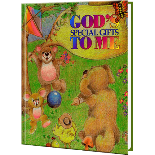 God's Special Gifts to Me Personalized Children's Book