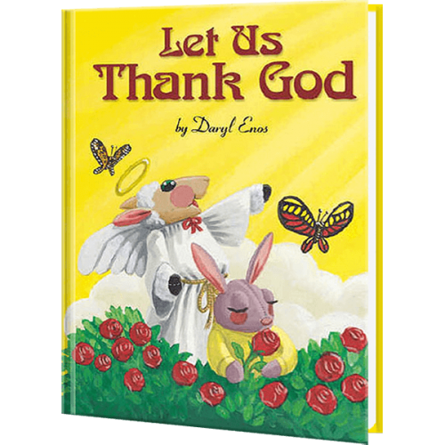 Let us Thank God Personalized Children's Book