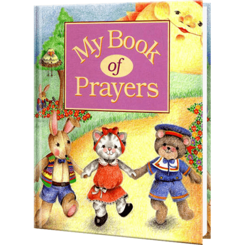 My Book of Prayers Personalized Children's Book