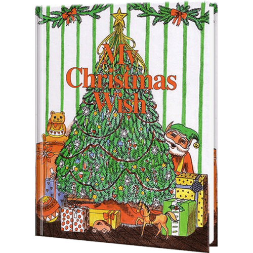 My Christmas Wish Personalized Children's Book