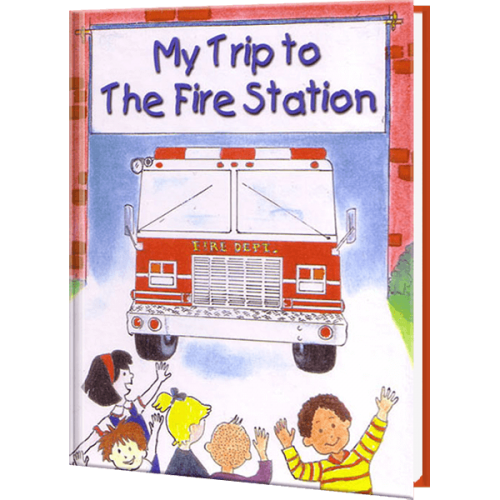 My Trip to the Fire Station Personalized Children's Book