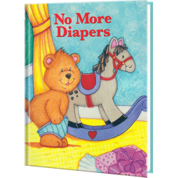 No More Diapers Personalized Baby Book