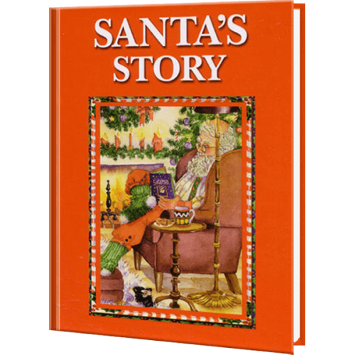 Santa's Story Personalized Children's Book