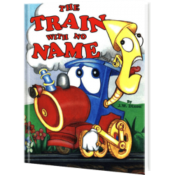 Personalized Train with no Name Children's Book