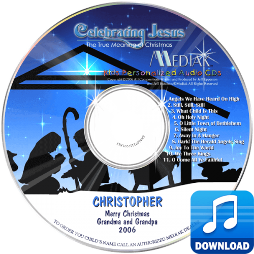 Personalized Celebrating Jesus Digital Music